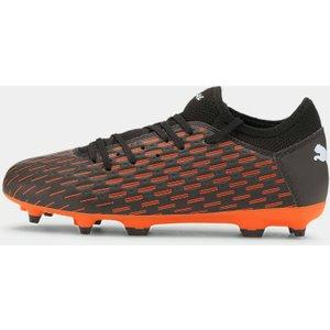 Puma Future 6.4 Junior Fg Football Boots Black/orange 391168 4 087025, Black/Orange