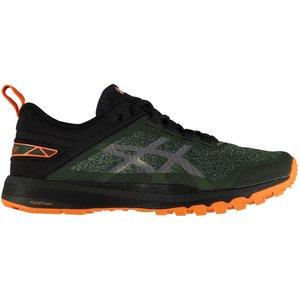 Asics Gecko Xt Mens Running Shoes Green/black 123651 9 213012, Green/Black