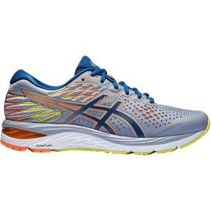 Asics Gel Cumulus 21 Mens Running Shoes Grey/blue 296832 8 211570, Grey/Blue