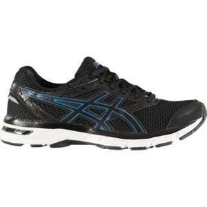 Asics Gel Excite 4 Running Trainers Mens Black/blue 109638 9 211448, Black/Blue