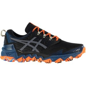 Asics Gel Fujitrabuco 8 Mens Trail Running Shoes Blue/black 383702 7h 213075, Blue/Black