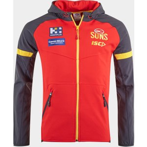 Isc Gold Coast Suns 2020 Afl Hooded Sweat Red 392103 Xxl Gs20hdy01m, Red