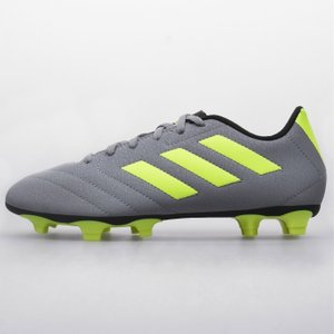 Adidas Goletto Firm Ground Football Boots Grey/solyellow 344160 6h 203041, Grey/SolYellow