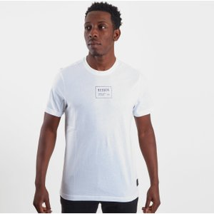 Reebok Gs Short Sleeve T Shirt Mens White 62478 Xl Du4655, White