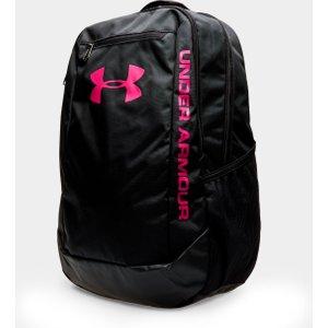 Under Armour Hustle Ldwr Backpack Black/black 60984 Ones 1273274 005, Black/Black