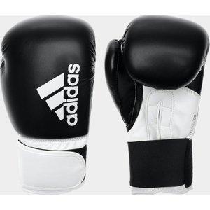 Adidas Hybrid 100 Boxing Gloves Black/white 313978 12oz 762031, Black/White
