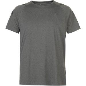 Asics Icon Short Sleeve T-shirt Grey Grey/black 277634 L 451448, Grey/Black
