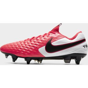 Nike Legend 8 Elite Soft Ground Football Boots Red/black 584104 F884 193044, Red/Black