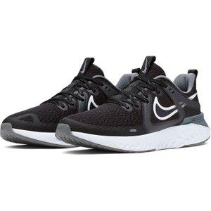 Nike Legend React 2 Mens Running Shoes Black/white 269771 12 211802, Black/White