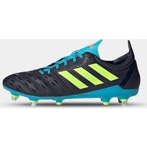 Adidas Malice Sg Rugby Boots Ink/cyan/green 424177 13 141091, Ink/Cyan/Green