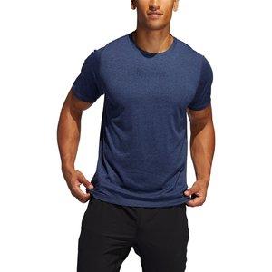 Adidas Mens Freelift Sport X Heather T Shirt Navymarl/wht 425149 S 623082, NavyMarl/Wht