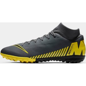 Nike Mercurial Superfly Academy Df Astro Turf Trainers Dkgrey/yellow 123744 9 261045, DkGrey/Yellow