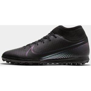 Nike Mercurial Superfly Club Df Mens Astro Turf Trainers Black/black 332059 10 261051, Black/Black