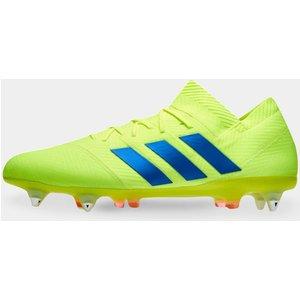 Adidas Nemeziz 18.1 Mens Sg Football Boots Solar Yellow 49434 6 190036, Solar Yellow