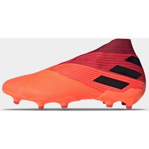 Adidas Nemeziz 19 + Fg Football Boots Signcoral/black 388078 12 203091, SignCoral/Black