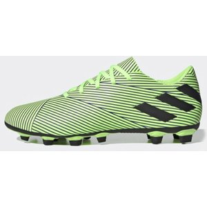 Adidas Nemeziz 19.4 Firm Ground Football Boots Mens Green/black/blu 425992 9 203170, Green/Black/Blu
