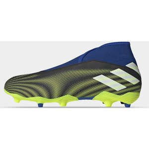 Adidas Nemeziz .3 Laceless Fg Football Boots Blue/solyellow 429082 9 203137, Blue/SolYellow