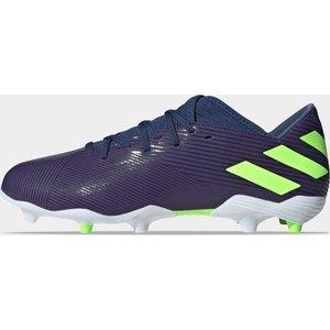 Adidas Nemeziz Messi 19.3 Fg Football Boots Tech Indigo/signal Coral 392417 6 Ef1806, Tech Indigo/Signal Coral