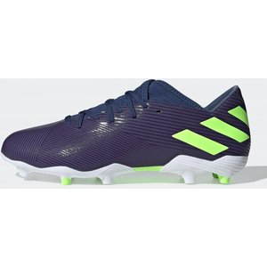 Adidas Nemeziz Messi 19.3 Mens Fg Football Boots Indigo/green 297179 9 203317, Indigo/Green