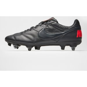 Nike Premier Ii Sg P Mens Football Boots Black/black 227438 8 203153, Black/Black