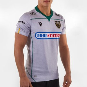Macron Northampton Saints 2019/20 Alternate S/s Authentic Test Rugby Shirt  64029 M 58109560