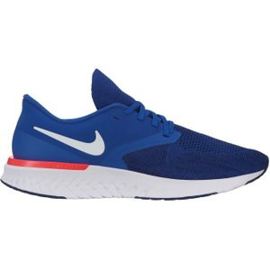 Nike Odyssey React Flyknit 2 Mens Running Shoes Blue/wht/red 241811 9 211728, Blue/Wht/Red