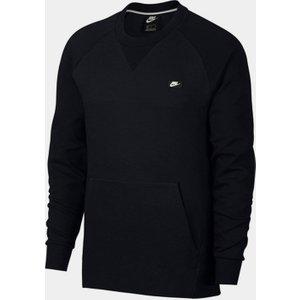 Nike Optic Sweatshirt Mens Black 255650 S 521069, Black