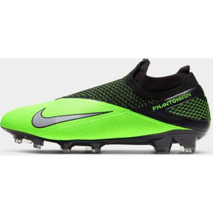 Nike Phantom Vision 2 Junior Fg Football Boots Black/green 424258 5 084010, Black/Green