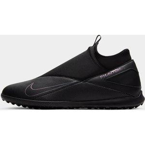 Nike Phantom Vision Club Df Mens Astro Turf Trainers Black/black 331559 12 261237, Black/Black