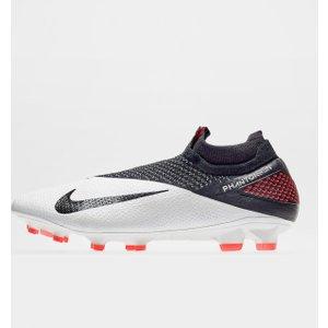 Nike Phantom Vision Elite Df Mens Fg Football Boots White/crimson 333512 9h 201162, White/Crimson
