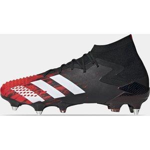 Adidas Predator 20.1 Mens Sg Football Boots Black/white/red 339930 7 193013, Black/White/Red