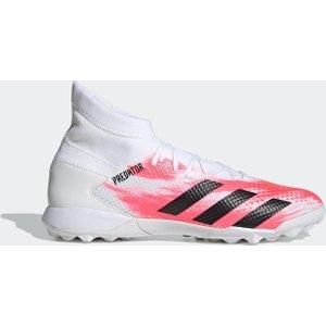 Adidas Predator 20.3 Astro Turf Football Boots Mens White/black 426208 10h 263108, White/Black