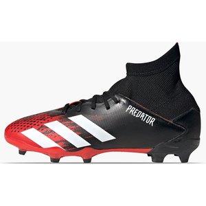 Adidas Predator 20.3 Kids Fg Football Boots Black/white/red 336429 1 083117, Black/White/Red