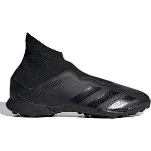 Adidas Predator 20.3 Laceless Kids Astro Turf Trainers Black/black 336204 11k 083116, Black/Black