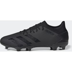 Adidas Predator 20.3 Low Mens Fg Football Boots Black/black 380532 6h 203043, Black/Black