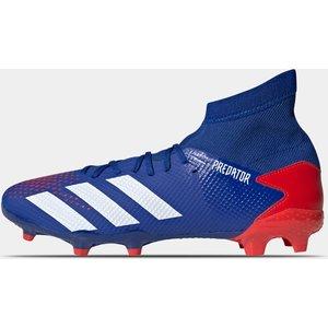 Adidas Predator 20.3 Mens Fg Football Boots Royal/white/red 399345 9 203027, Royal/White/Red