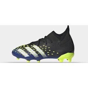 Adidas Predator Freak .1 Childrens Fg Football Boots Black/solyellow 419680 2 083003, Black/SolYellow