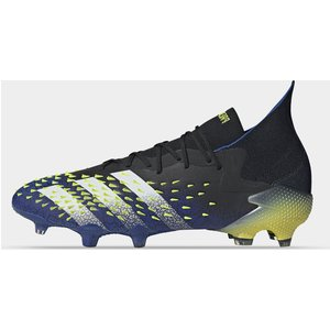Adidas Predator Freak .1 Fg Football Boots Black/solyellow 419230 8 203093, Black/SolYellow