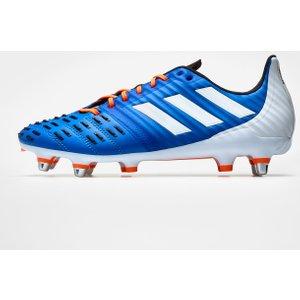 Adidas Predator Malice Control Sg Mens Boots Blue/orange 270640 8 140355, Blue/Orange
