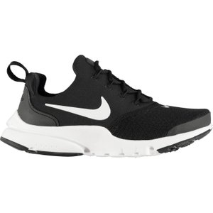 Nike Presto Fly Trainers Junior Black/white 326451 4 041213, Black/White