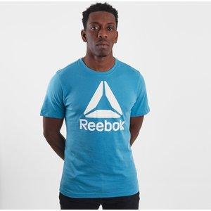 Qqr Reebok Stacked T-shirt Mineral Mist 62485 M Du4690, Mineral Mist