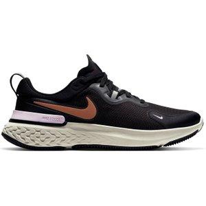Nike React Miler Running Shoes Ladies Black/pink 451363 8 215179, Black/Pink