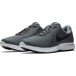 Nike Revolution 4 Mens Trainers Grey/black 98157 6 121263, Grey/Black