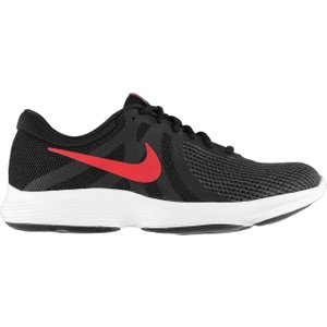 Nike Revolution 5 Mens Running Shoe Grey/red/black 390972 10 121423, Grey/Red/Black