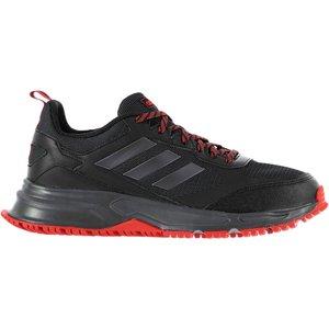 Adidas Rockadia 3 Trail Running Shoes Mens Black/red 389319 8 123054, Black/Red