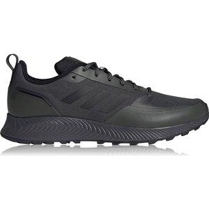 Adidas Runfalcon 2 Mens Trail Running Shoes Khaki/black/gry 525763 10h 123048, Khaki/Black/Gry