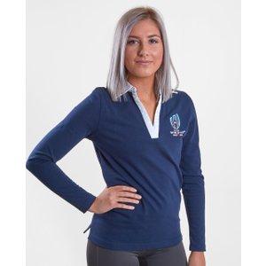 Rwc 2019 L/s Ladies Shirt Navy 63946 8 Rwc2019 C 50d, Navy