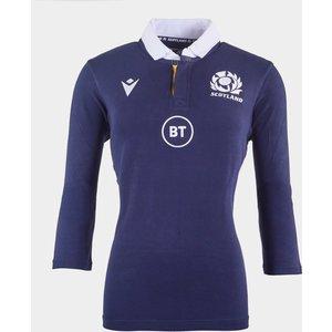 Macron Scotland Classic Home Shirt 2020 2021 Ladies Navy 445396 245x 381629, Navy
