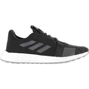 Adidas Senseboost Go Mens Boost Running Shoes Black/grey 300683 10h 211238, Black/Grey