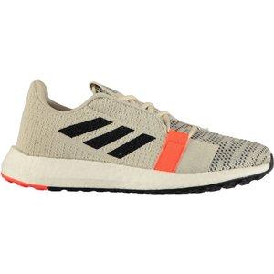 Adidas Senseboost Womens Trainers White/black 263343 7 214075, White/Black